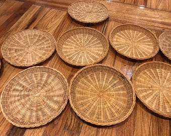 Rustic Woven Baskets