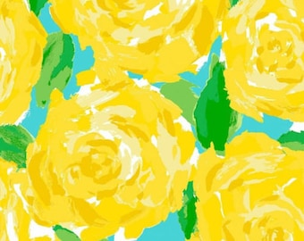 Lilly Pulitzer Fabric Yellow First Impressions