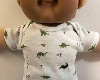 """Cabbage Patch Kids 16 inch BOY, Top ONLY 4.00 Dollars, Cool """"DINOSAURS"""" Top Only, 16 inch Cabbage Patch Boy Clothes, Top Only - 4.00 Dollars"""