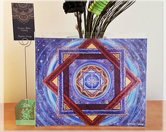 Mandala Art Print - Ascension - 8 3/4 × 11 inches