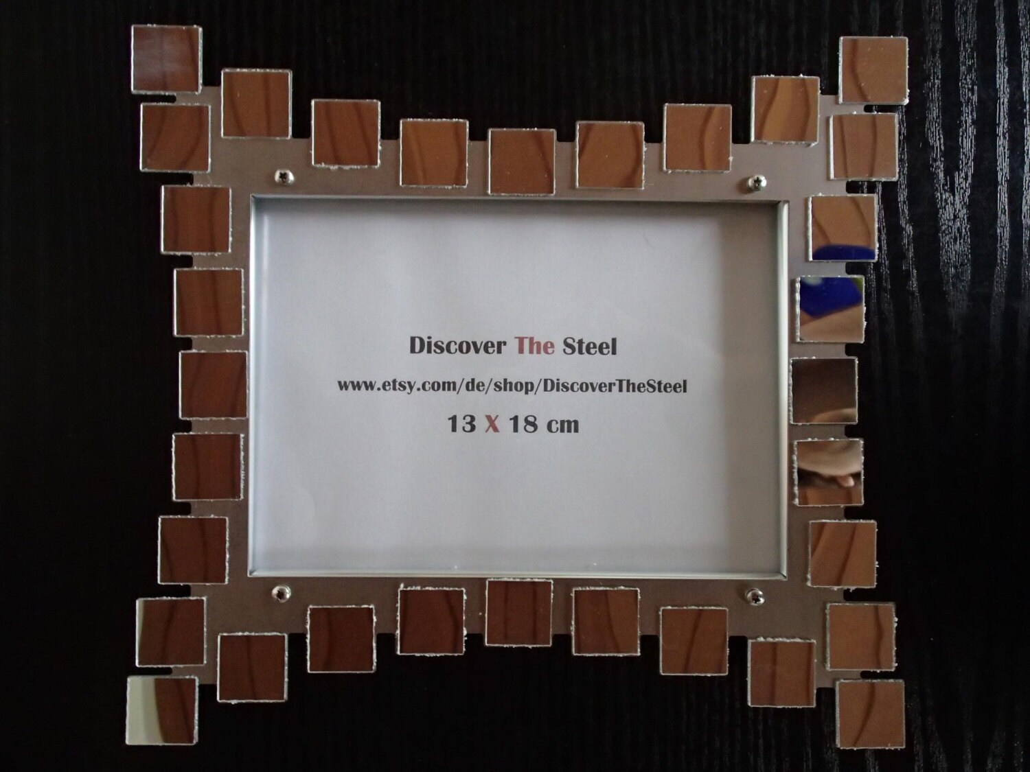 Picture frame 13 x 18 cm Mirror Rectangle stainless steel wall ...