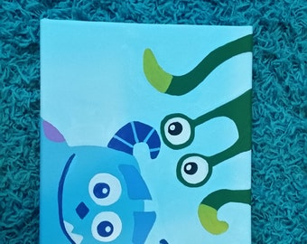 Monster Inc. Nursery Canvas
