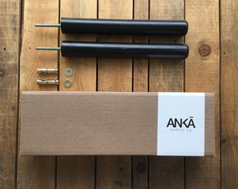 LEVITA // black wood bike rack/Bike hanger/ Bicycle storage/Bike holder/Bike mount/Bike stand/Wall/Minimalist/Wood/Bike hook/Interior design