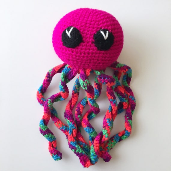 Crocheted Octopus Softie Discounted