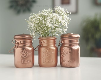 Mini Copper Vases