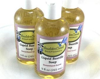 Dreamland Scent Liquid Bastille Soap Lavender Clary Sage Lemongrass Essential Oils #269