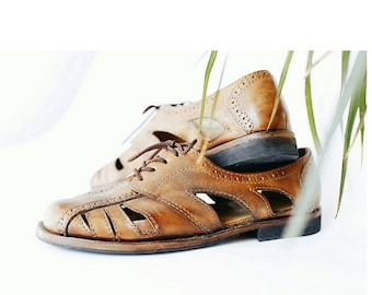 Oxford sandals-leather shoes-handmade shoes-brogues-custom shoes-sandals-womens oxford shoes-mens oxford shoes-shoes