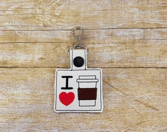Coffee Lovers Gift - Coffee Gifts for Him - Coffee Gifts for Her - Coffee Gift for Mom - Coffee Gift for Dad - Coffee Gift - Coffee Keychain