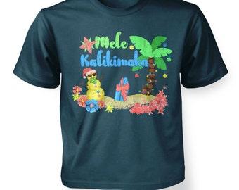 Mele Kalikimaka kids t-shirt