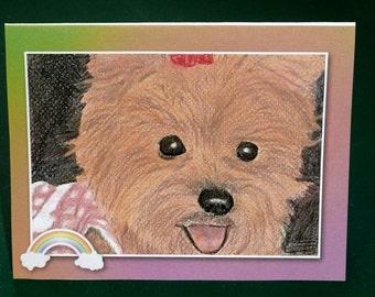 Female Pet Sympathy Card