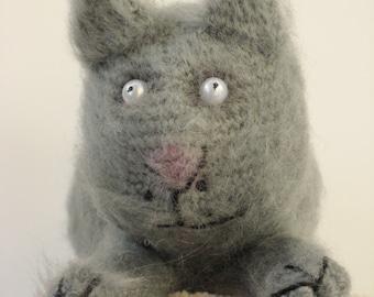 Funny fluffy cat