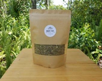 Night Owl Herbal Tea | to induce deep + restful sleep