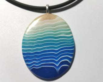 "Pendant ""Beach Waves"""