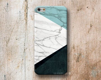 Blue White Marble Phone Case for iPhone 4 4s 5 5s SE 5C 6 6S 7 8 PLUS X iPod Touch 5 6 Oneplus 2 3 5 1+2 1+3 1+5