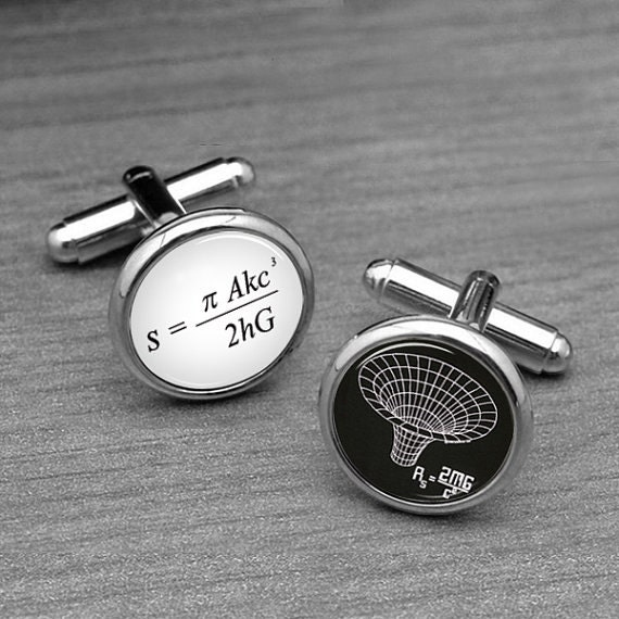 Black Hole Cufflinks