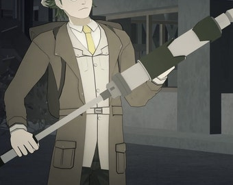 Dr. Oobleck's Weapon from RWBY