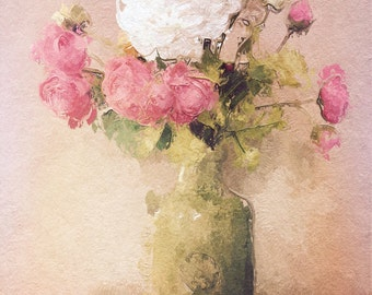 Faded Roses - 5x7 Fine Art Photograph