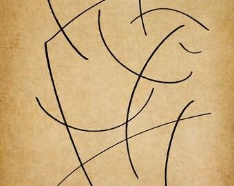 Aero, A Gestural Drawing.