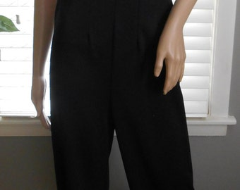 Vintage 80's-90's One Piece Jumpsuit / Romper- Size Small