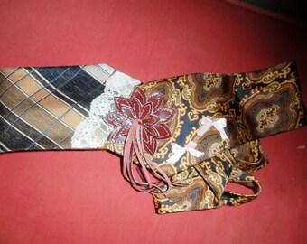 belt ties vintage creation and unique