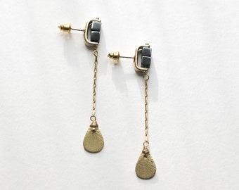Studtastic Pyrite Earrings