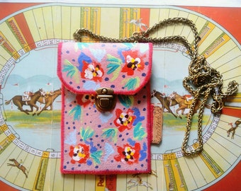 Handmade, Handpainted leather Handbag