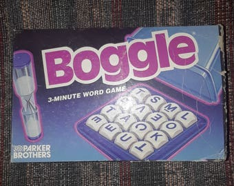 Boggle 3 min word game