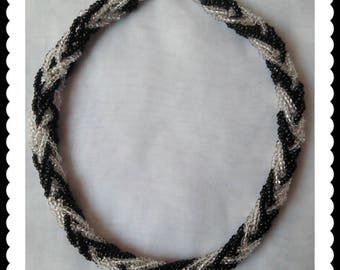 Vintage Multi-Strand Beaded Necklace