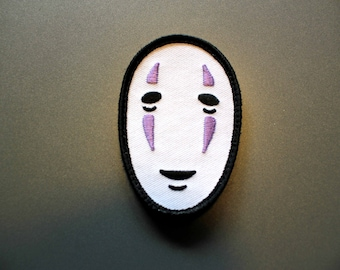 No-Face / Kaonashi - Patch - inspired by the anime spirited away