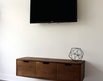 Floating TV Console / Cabinet / Stand (that Can Be Used Also As An Entryway
