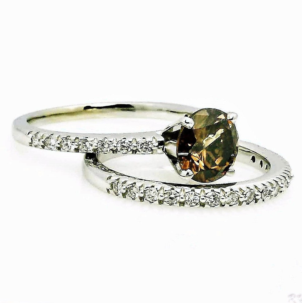 product tw anniversary carat bands ct ring glacier fire gold crescent band diamonds