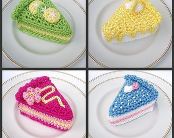 Crochet Pattern - UK Crochet Terms (with US Translation table) - Cake Slices