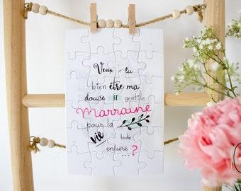 Puzzle - Demande marraine