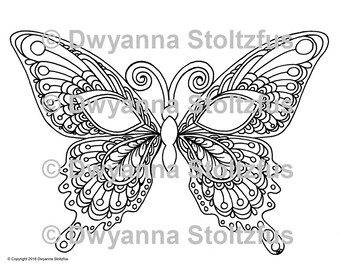 Mask 4 Coloring Page JPG