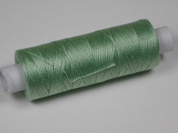 5051 Venne cotton, knitting and crochet thread for miniature handicraft, color pistachio green