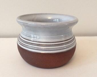 vintage studio pottery planter / succulent pot