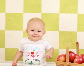 Cutest Apple in the Orchard Fall Bodysuit