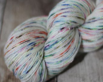 Atomic Jasmine - Merino / Silk 2ply Yarn