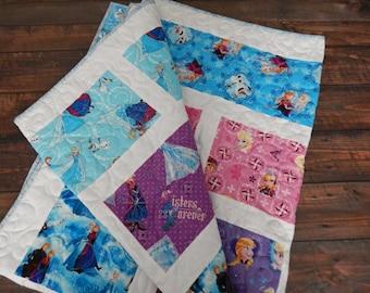 Disney Frozen Quilt