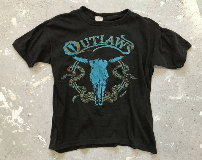 Featured listing image: 1978 The Outlaws • Bring It Back Alive vintage tour tee