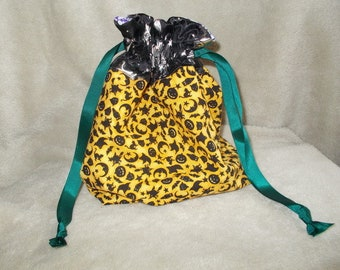 Halloween inspired witches, cats & pumpkins bag
