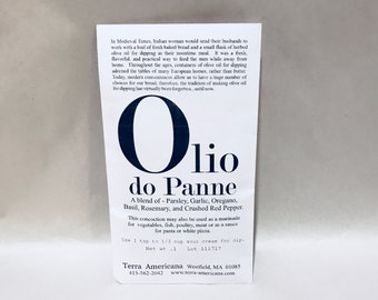 Olio do Panne - Seed Style Packet Envelopes