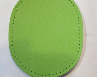 Elbow patch leather 12 x 9 cm