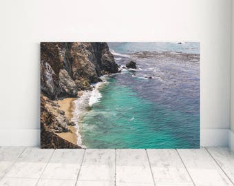 Fine Art Photography - Big Sur - California - Ocean - Coast - Photography - Wall Art - Wrapped Canvas - Beach - Print - Photo