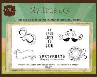 Clearance - Unity - Ippity Stamps - My True Joy