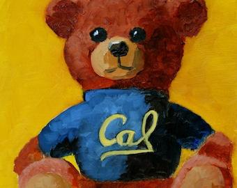 Custom Mascot Painting - Great Graduation Gift