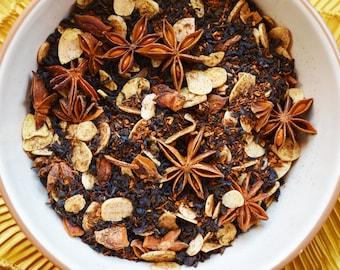 Toasted Cookie - Loose Tea - Almond Anise Tea - Foodie Gift - Rooibos - Loose Leaf Black Tea - Flavored Tea - Tea Lovers - Winter - Tea