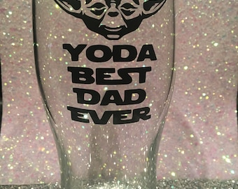 Fathers Day pint glasses