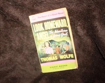 1948 Signet 1st edition paperback Look Homeward Angel