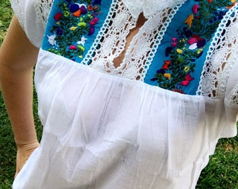 100% Cotton Handmade Blouse
